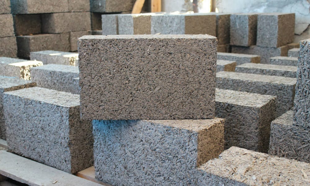 арболитовый блок для строительства дома