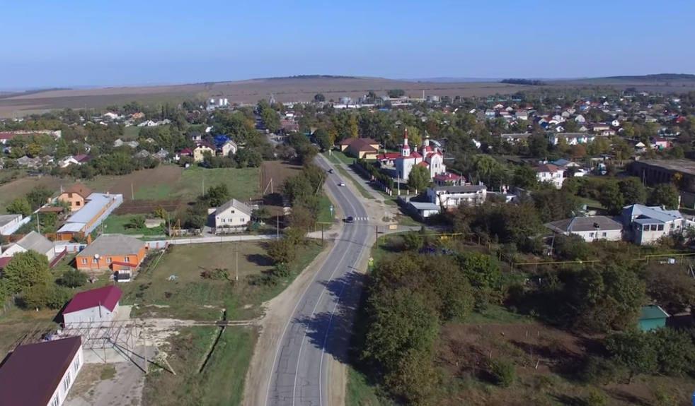 село Юровка вид